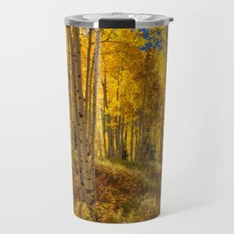 Autumn Aspen Forest Aspen Colorado Travel Mug