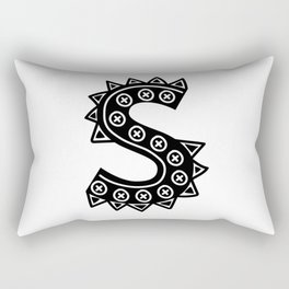 LETTER 'S' IMELA PRINT Rectangular Pillow