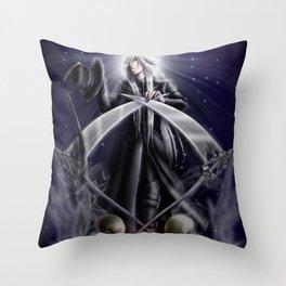 Saint Undertaker Throw Pillow