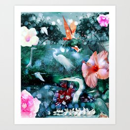 Mystical Morning Art Print