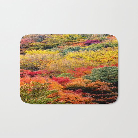 Autumn Forest Bath Mat