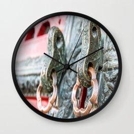 Forbidden City Door Handles, Beijing Wall Clock
