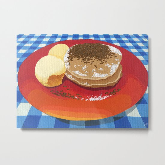 Pancakes Week 15 Metal Print
