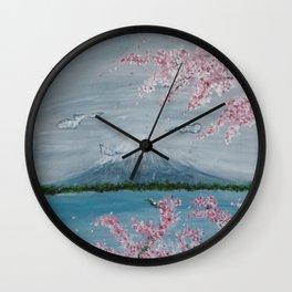 Japanese Vibes Wall Clock