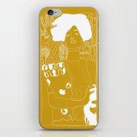 klimt iPhone & iPod Skins featuring Gustav Klimt by Ian Cy