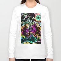 buzz lightyear Long Sleeve T-shirts featuring Buzz by Lior Blum