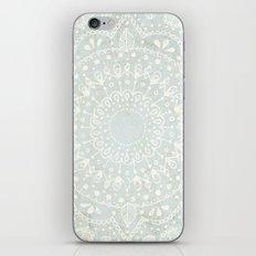 Powder Blue Mandala iPhone & iPod Skin