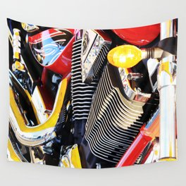 Motorcycle Wall Tapestry