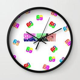 Sexual Mercinary Wall Clock
