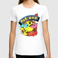 pac man T-shirts featuring Pac-Man by idaspark