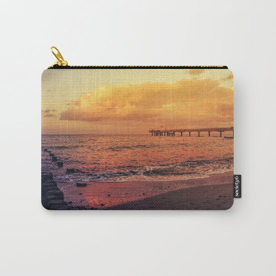 Sundown at the sea Carry-All Pouch