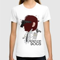 reservoir dogs T-shirts featuring Reservoir Dogs  by edgarascensao
