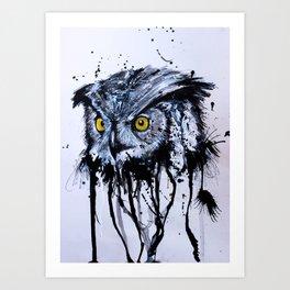 OVO OWL Art Print