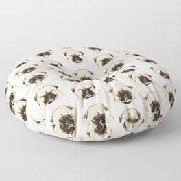 No Evil Pug Floor Pillow