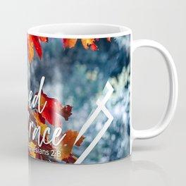 Saved by Grace Ephesians 2:8 Coffee Mug