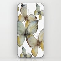 craftberrybush iPhone & iPod Skins featuring Fall Butterfly by craftberrybush