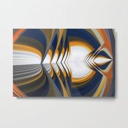 Endless Loop Metal Print