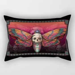 """Death colored moth"" Rectangular Pillow"