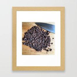 Chopped Framed Art Print