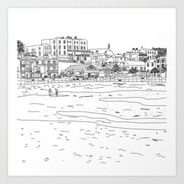 Broadstairs, England Art Print