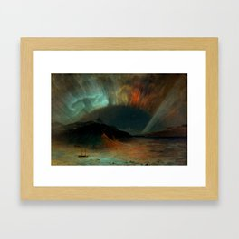 Aurora Borealis by Frederic Edwin Church Framed Art Print