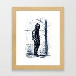 Cool boy Framed Art Print