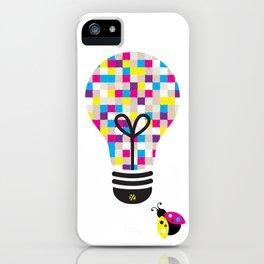 Star-Gazer: Bright Idea Art Series  iPhone Case
