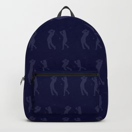 Golf Seamless Pattern Design Backpack