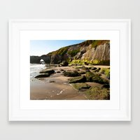 aperture Framed Art Prints featuring Aperture by Monica Ortel ❖