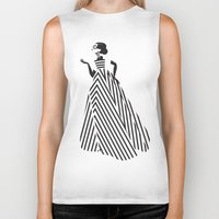 dress Biker Tanks featuring Dress by Yordanka Poleganova