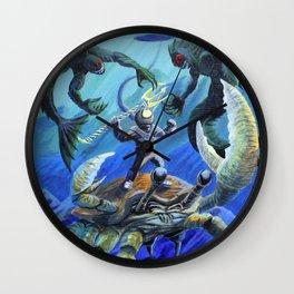 Treasure Hunt Wall Clock