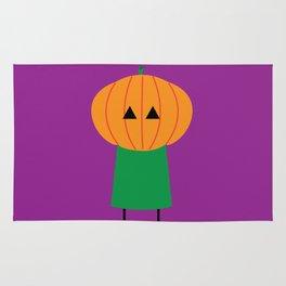 My Little Pumpkin Head Rug