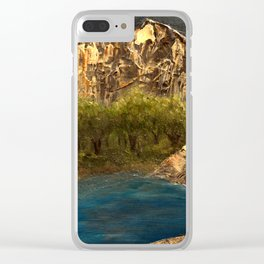 Maybe Somewhere Clear iPhone Case