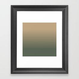 Evening in the Marsh Framed Art Print
