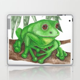 Bold Frog Laptop & iPad Skin