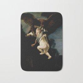 Rembrandt - The Abduction of Ganymede (1635) Bath Mat