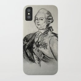 French Sketch III iPhone Case