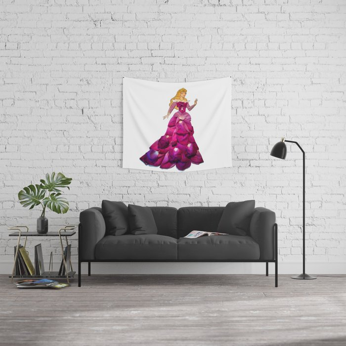Petal Art Aurora Wall Tapestry