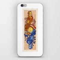 carpe iPhone & iPod Skins featuring Carpe Diem, Carpe Noctem by Mariya Olshevska