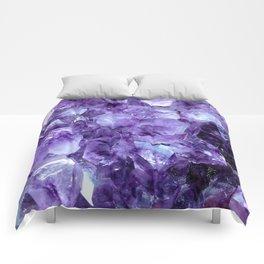 Amethyst Crystals Comforters