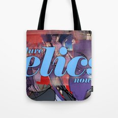 Future Relics Now Tote Bag
