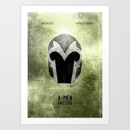 X-Men: First Class - Minimal Art Print
