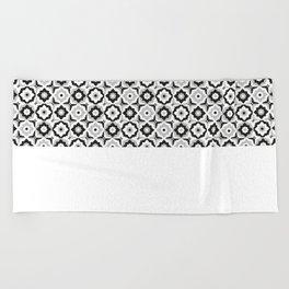 Moroccan tile Beach Towel