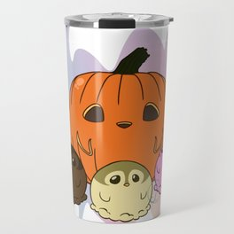 Penguinscoops - Pumpkin Travel Mug