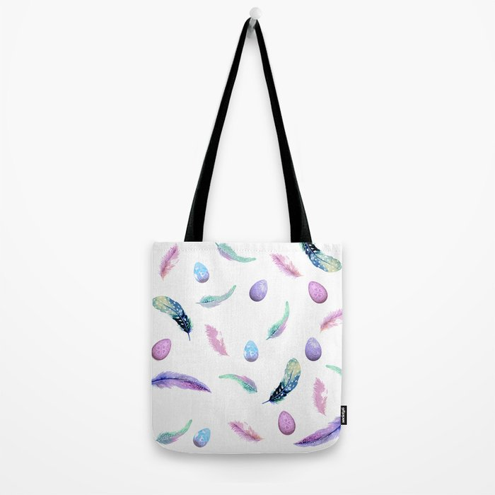 Feathers & Eggs Tote Bag