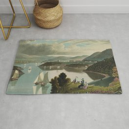 West Point, from above Washington Valley (1834) Rug
