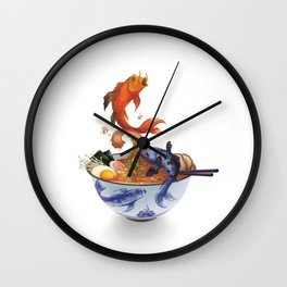 Primordial Soup Wall Clock