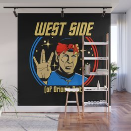 West Side - Spock Wall Mural