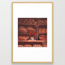 Kiki Framed Art Print