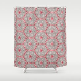 V28 Moroccan Pattern Design. Shower Curtain